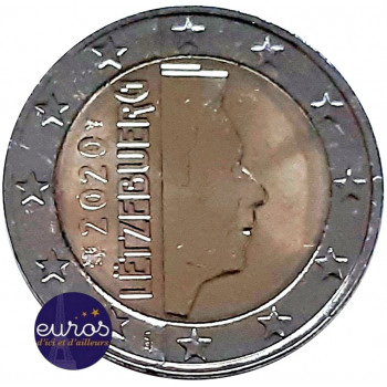 2 euros annuelle LUXEMBOURG 2020 - UNC