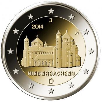 2 euros commémorative ALLEMAGNE 2014 - Hildelseim - UNC