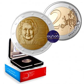 2 euros commémorative ITALIE 2020 - Maria Montessori - Belle Epreuve