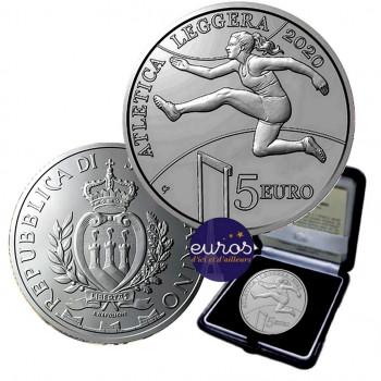 5 euros SAINT MARIN 2020 -...