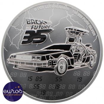 NIUE 2020 - 2$ NZD Retour Vers le Futur™ - 1oz argent  - Bullion Coin