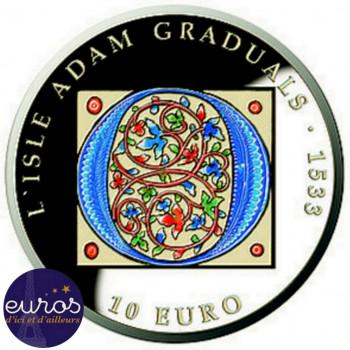 10 euros MALTE 2020 - L'Isle Adam Graduals - Argent 925‰