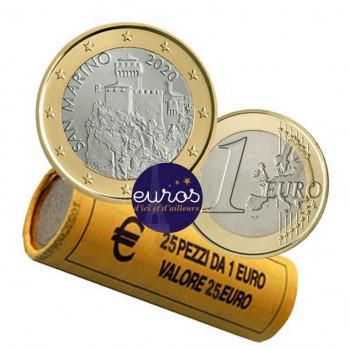 Rouleau 25 x 1 euro SAINT...