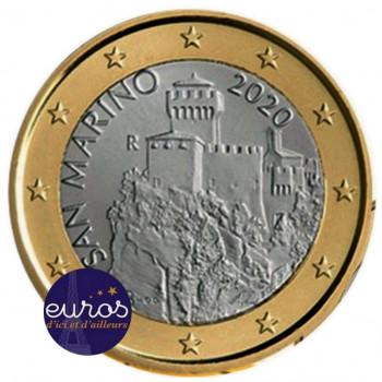 1 euro SAINT MARIN 2020 - La Deuxième Tour - UNC