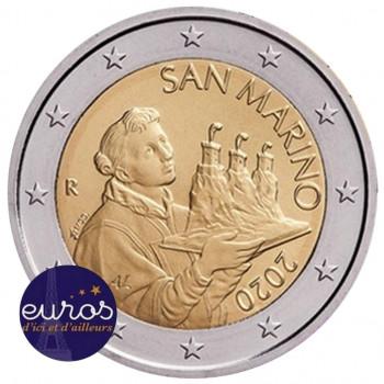2 euros annuelle SAINT MARIN 2020 - Le Saint Marin - UNC