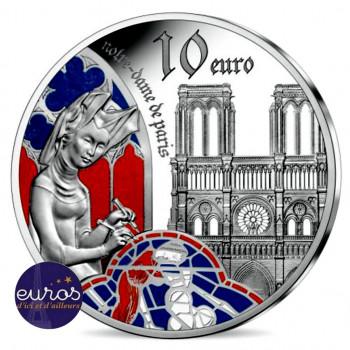 10 euros FRANCE 2020 - Europe Gothique - Notre Dame de Paris - Argent 900‰