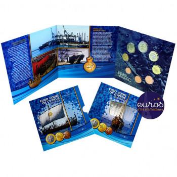 Set BU CHYPRE 2020 - Navire Kyrenia - Brillant Universel
