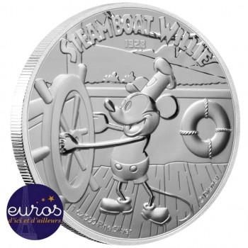 NIUE 2020 - 2$ NZD MICKEY MOUSE™ et ses Amis - Bateau à vapeur Willie™ - Disney™ - Belle Epreuve