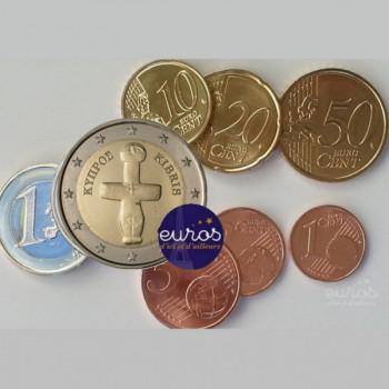Série 1 cent à 2 euros CHYPRE 2020 - UNC
