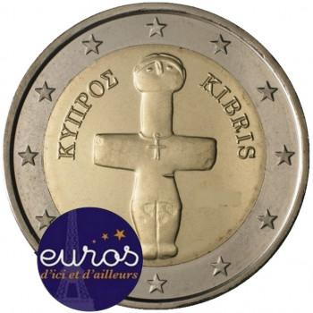 2 euros annuelle CHYPRE 2020 - Idole de Pomos - UNC
