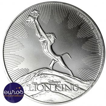 NIUE 2020 - 2$ NZD Le Roi Lion™ - Rafiki - 1oz argent - Disney™ (2)