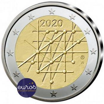 2 euros commémorative FINLANDE 2020 - 100ème anniversaire de l'Université de Turku - UNC