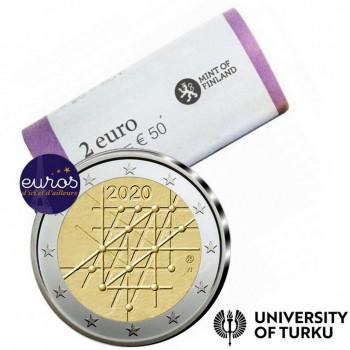 Rouleau 25 x 2 euros commémoratives FINLANDE 2020 - 100ème anniversaire de l'Université de Turku - UNC