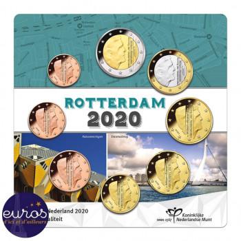 Mini-set PAYS-BAS 2020 - Série 1 cent à 2 euros - UNC