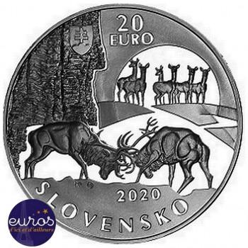 20 euros SLOVAQUIE 2020 - Poľana : Zone Paysagère Protégée des Montagnes - Belle Epreuve