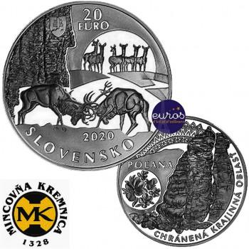 20 euros SLOVAQUIE 2020 -...