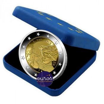 2 euros commémorative BELGIQUE 2020 - Année Jan Van Eyck - Belle Epreuve