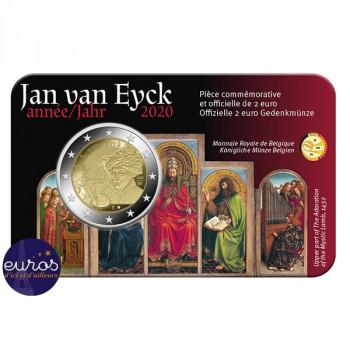 Coincard 2 euros BELGIQUE 2020 - Année Jan van Eyck - BU