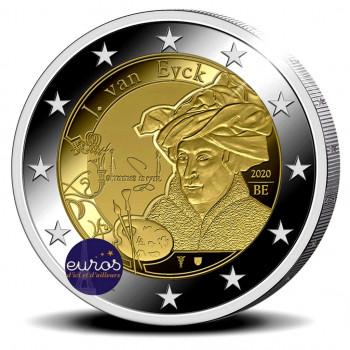 2 euros commémorative BELGIQUE 2020 - Année Jan Van Eyck - BU