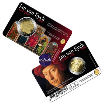 Coincard FL 2 euros BELGIQUE 2020 - Version Flamande - Année Jan Van Eyck - BU