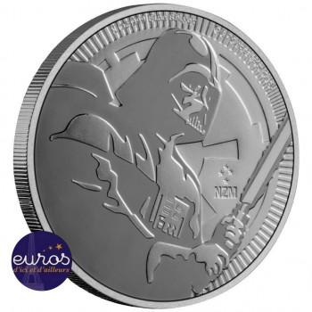 NIUE 2020 - 2$ NZD - Dark Vador™ - 1oz argent - Star Wars™ - Bullion Coin