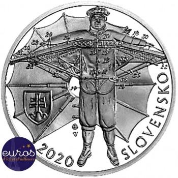 10 euros SLOVAQUIE 2020 - Štefan Banič - Belle Epreuve