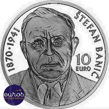 10 euros SLOVAQUIE 2020 - Štefan Banič - Brillant Universel
