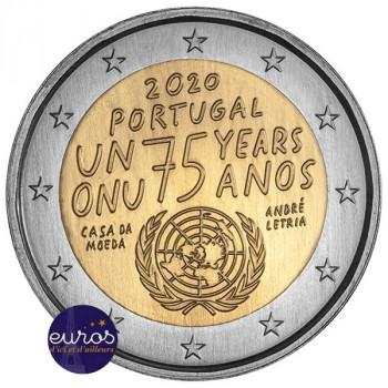 2 euros commémorative PORTUGAL 2020 - Nations Unies - UNC