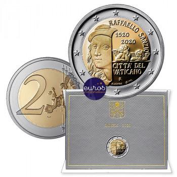 2 euros commémorative VATICAN 2020 - Raffaello - Brillant Universel