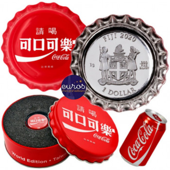 ILES FIDGI 2020 - 1$ - Coca-Cola® - TAÏWAN - Argent - Global Edition (7)