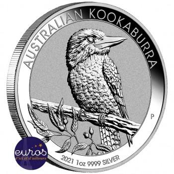 AUSTRALIE 2021 - 1$ AUD - Kookaburra - 1oz  argent 999,99‰ - Bullion coin