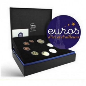 Coffret BE France 2021 - Série 1 cent à 2 euros Belle Epreuve - Monnaie de Paris