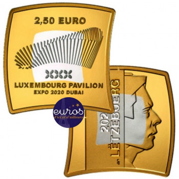2,5 euros LUXEMBOURG 2020 -...