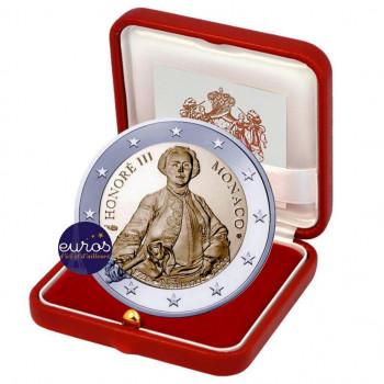 2 euros commémorative MONACO 2020 - Prince Honoré III - Qualité Belle Epreuve
