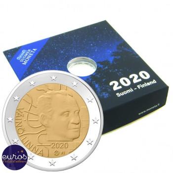 2 euros commémorative FINLANDE 2020 - Väinö Linna - Belle Epreuve