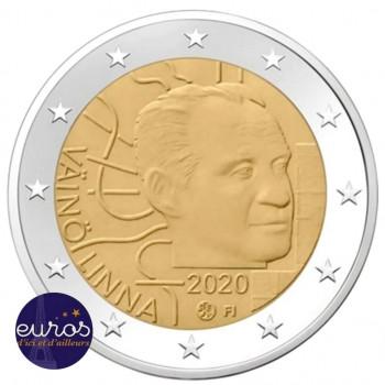 2 euros commémorative FINLANDE 2020 - Väinö Linna - UNC