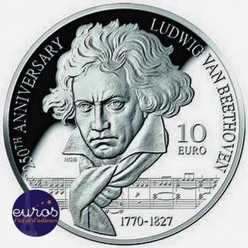 10 euros MALTE 2020 - Ludwig Van Beethoven - Argent 925‰