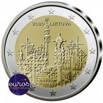 2 euros commémorative LITUANIE 2020 - La Colline des Croix - UNC