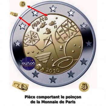 2 euros commémorative MALTE 2020 - Jeux - Mintmark MdP - UNC