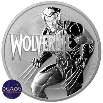 TUVALU 2021 - 1$ TVD - Wolverine™ - Marvel™ (9) - 1 oz argent 999‰ - Bullion Coin