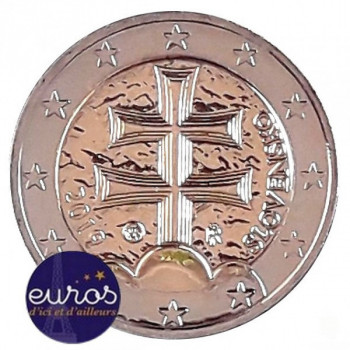 2 euros annuelle SLOVAQUIE 2020 - Emblème National de la Slovaquie
