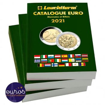 Catalogue EURO 2021, cotation des pièces et billets - Nouvelle édition 2021 - 363233 - LEUCHTTURM