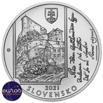 10 euros SLOVAQUIE 2021 - Janko Matúška - Argent 900‰ Belle Epreuve