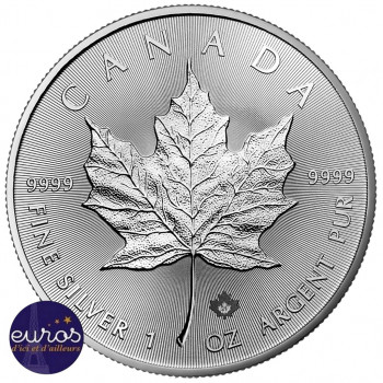 CANADA 2021 - Maple Leaf - 5 dollars CAD - 1 oz - Argent 999‰ - Bullion Coin