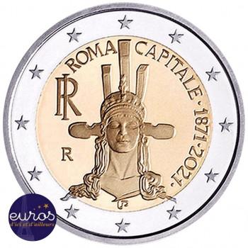 2 euros commémorative ITALIE 2021 - 150ème anniversaire de Rome, Capitale - UNC