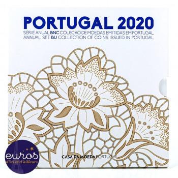 Set BU PORTUGAL 2020 - Série 1 cent à 2 euros - Brillant Universel