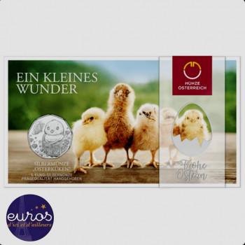 5 euros AUTRICHE 2021 - Pâques, Un Petit Miracle - Argent 925‰
