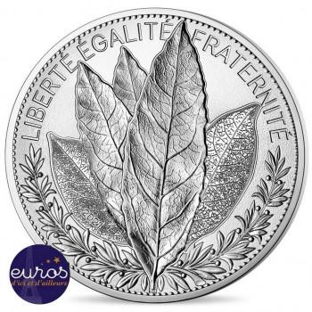 100 euros commémorative FRANCE 2021 - Laurier - Argent 900‰
