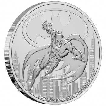NIUE 2021 - 2$ NZD BATMAN™ - 1oz argent - Bullion Coin