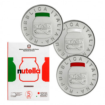 Triptyque 5 euros ITALIE...